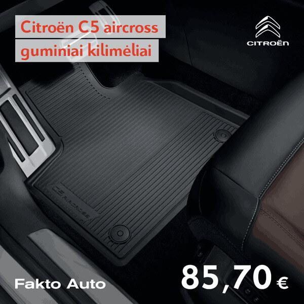 citroën-serviso-pasiulymai-c5-aircross-guminiai-kilimeliai